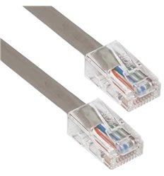 0.5Ft Cat5e Plenum Ethernet Cable Grey
