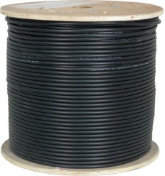 1000Ft Cat5e Outdoor Direct Burial Shilded Gell-type Bulk Cable