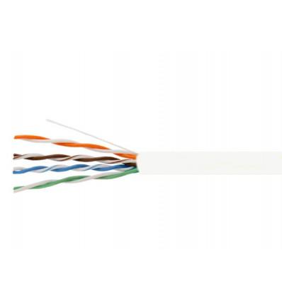 1000Ft Cat6 Stranded UTP Copper Bulk Cable White