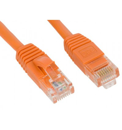 300Ft Cat5e Ethernet Copper Cable Orange