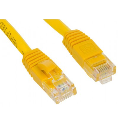 300Ft Cat5e Ethernet Copper Cable Yellow