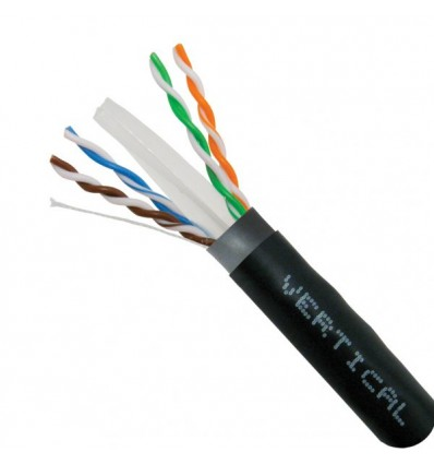 Cat6 Shielded Direct Burial Bulk Copper Cable