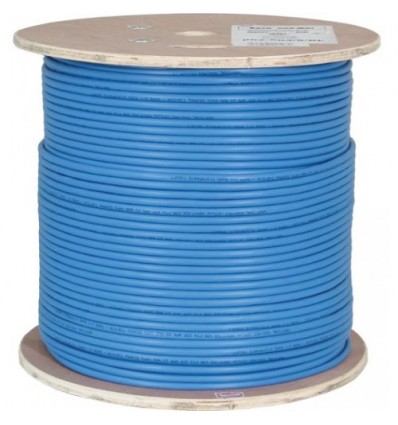 Vertical Cable Cat6A 10G, UTP, 23AWG, Solid Bare Copper, PVC, 1000ft, Bulk Ethernet Cable
