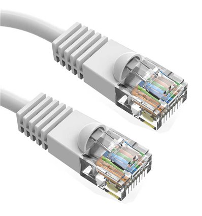 14Ft Cat5e Ethernet Copper Cable White