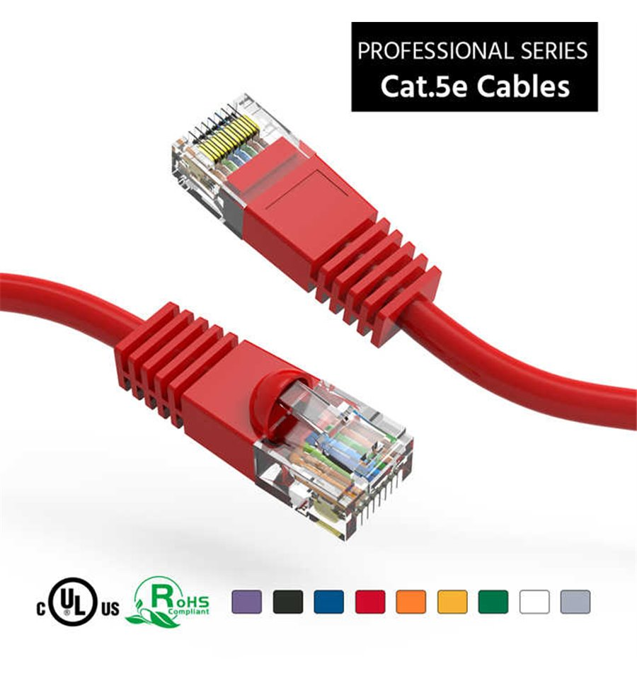 8P8C to Same Cat 5e Cable 100 ft