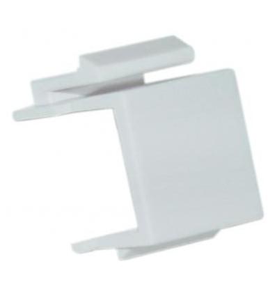 Snap-in Blank Keystone Insert Module White