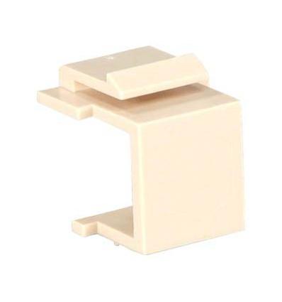 Snap-in Blank Keystone Insert Module Ivory