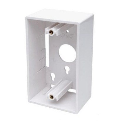 SurfacemountBox for Wallplate White