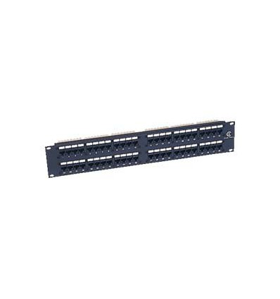 Cat6 110 Type Patch Panel 48Port Racmount