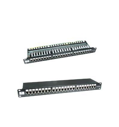 Cat6 110 Type 24Port Shielded Patch Panel UL