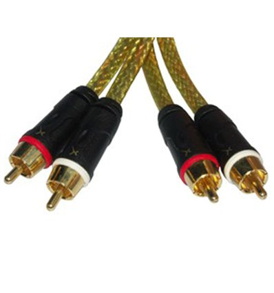 GOLD X RCA Audio Cable