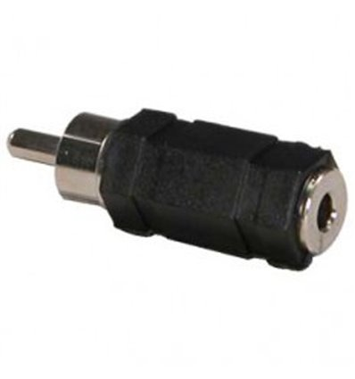 RCA Plug to 3.5mm Mono Jack Adapter