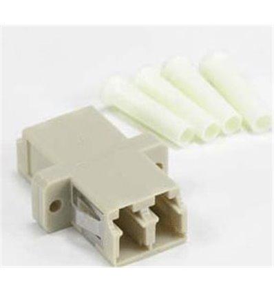 LC-LC Multimode Duplex Optic Adapter