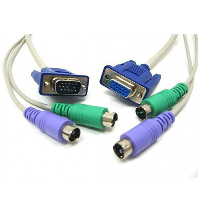 6Ft KVM Cable Extension M/F