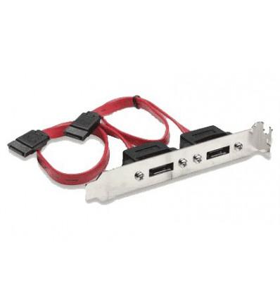 Internal SATA To External SATA Bracket