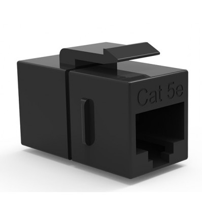 Cat5e Inline Coupler w Keystone Latch