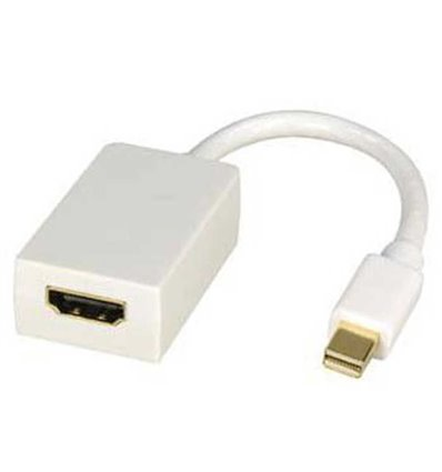 Mini Display Port Male to HDMI Female Adapter