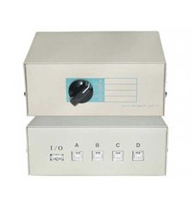 USB 4 Way Manual Switch
