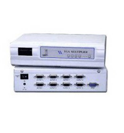 VGA Multiplier 1-8 Video Separator Switch Box