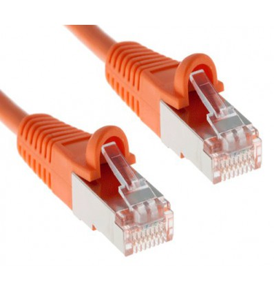 300Ft Cat5e Ethernet Shielded Cable Orange