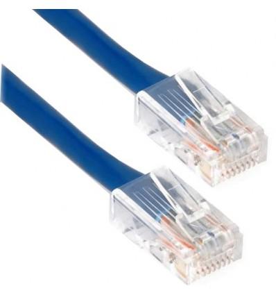 1Ft Cat6 Plenum Ethernet Cable Blue