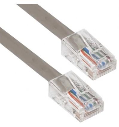 2Ft Cat6 Plenum Ethernet Cable Grey