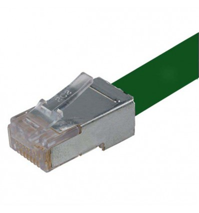 250Ft Cat6 Ethernet Shielded Cable Green