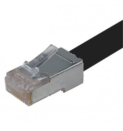 300Ft Cat6 Ethernet Shielded Cable Black